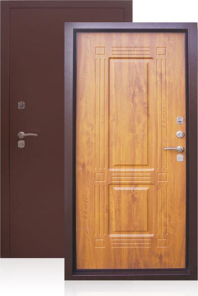 заводские теплые металлические двери